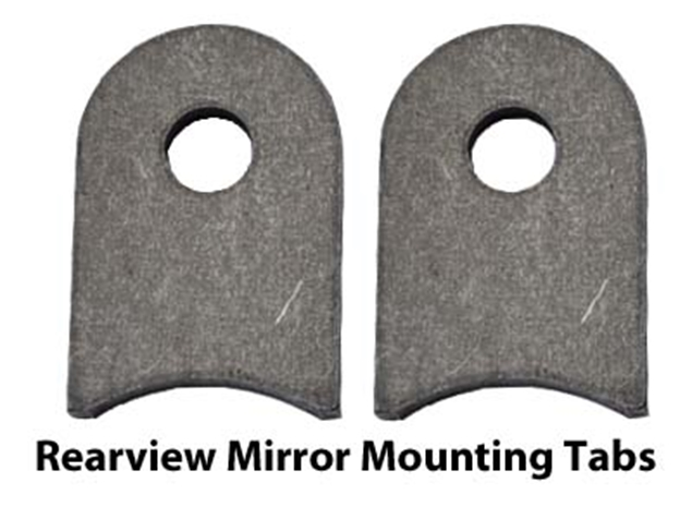 Picture of Rearview Mirror Mounting Tabs