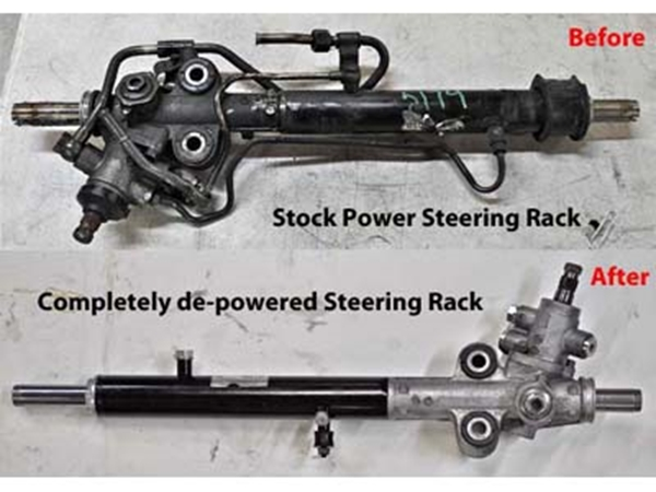 Picture of Steering Rack - De-powering