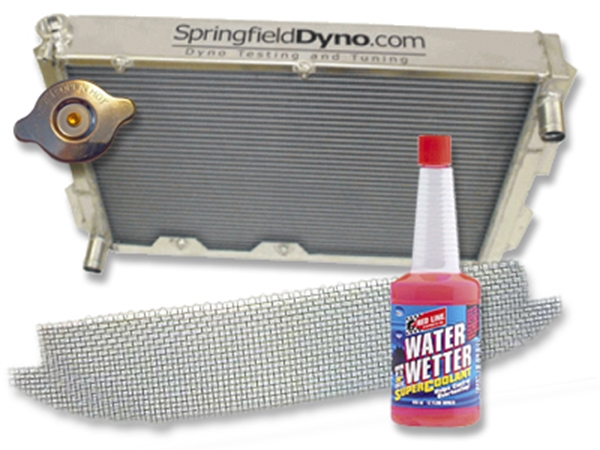 Picture of Springfield Dyno Aluminum Race Radiator Package