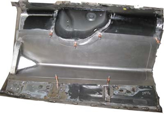 Picture of Transmission Tunnel Notch out Panel